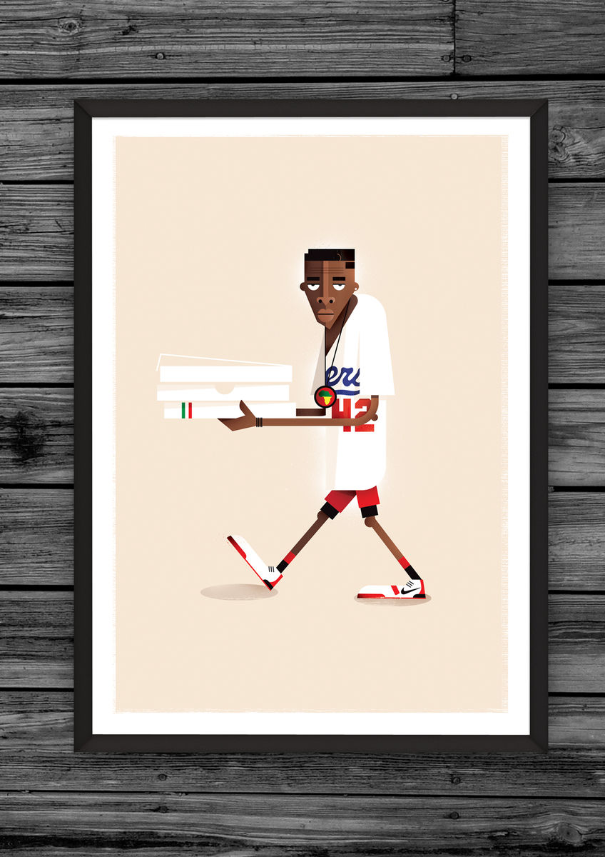 Mookie print (Limited edition) - product image