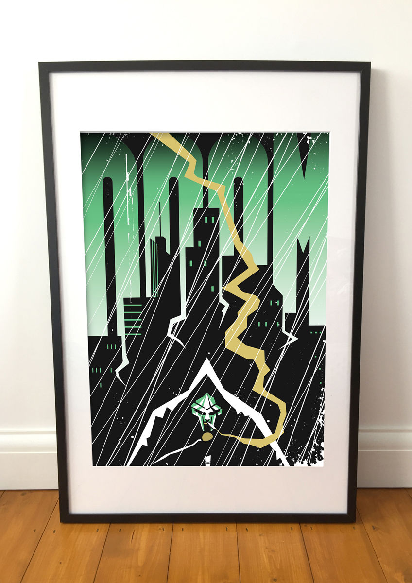 Doom screenprint (Limited edition) - product images  of