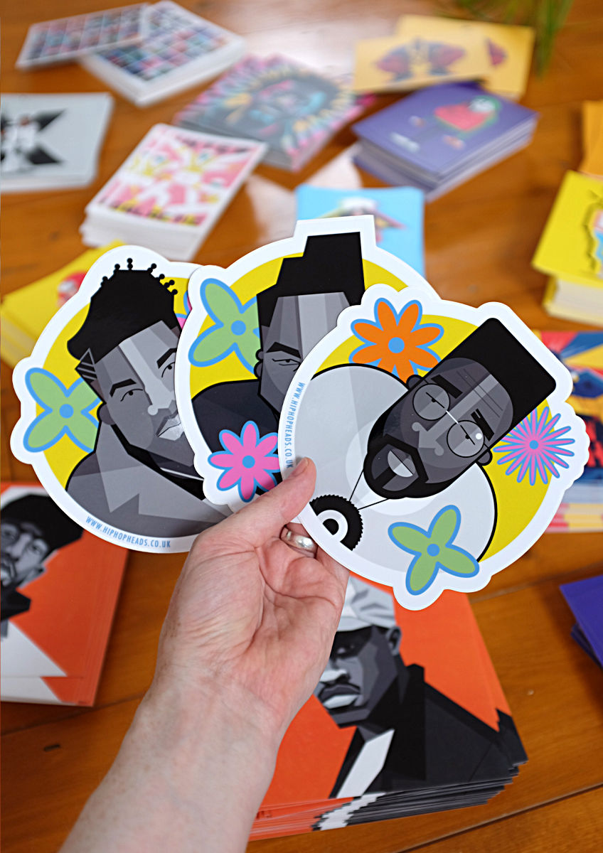 Vinyl stickers 11 - product images  of