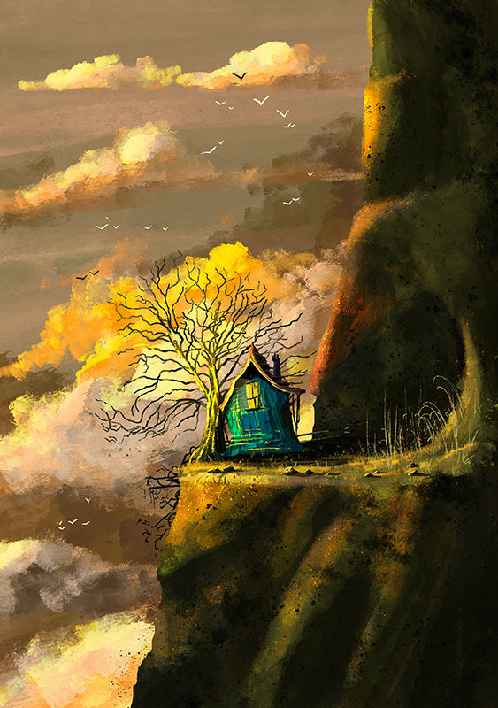 Tree House Print (21cm x 30cm) - product image