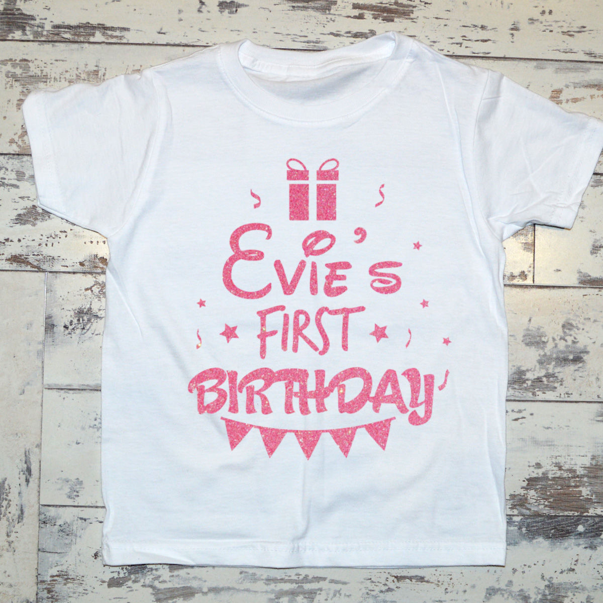 9754007e9ea0f Personalised Birthday T-shirt