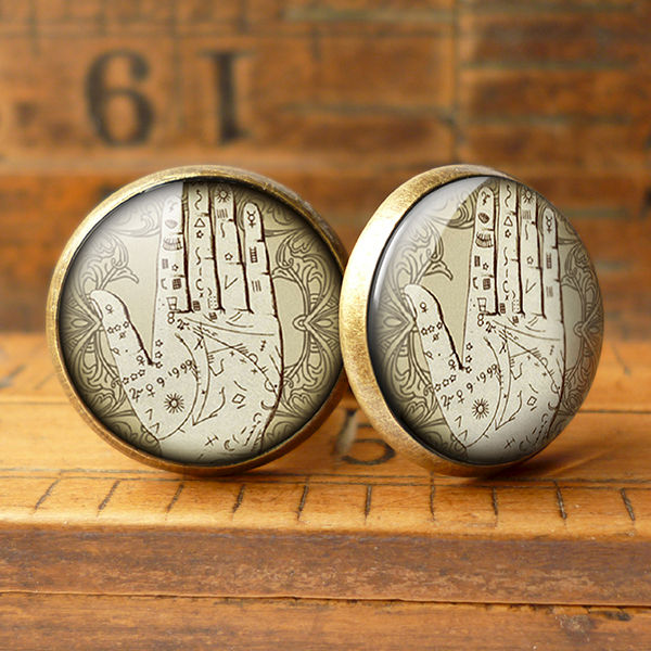 Palmistry Cufflinks (DJ08) - product images  of