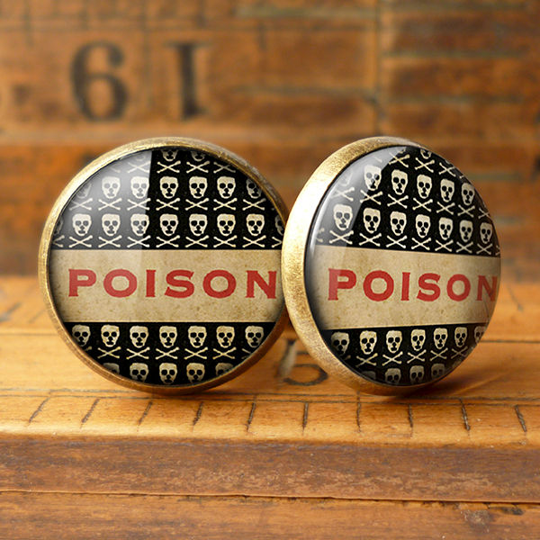 Poison No.1 Cufflinks (DJ06) - product images  of