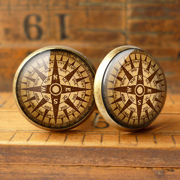 Compass No.1 Cufflinks (DJ03) - product images  of