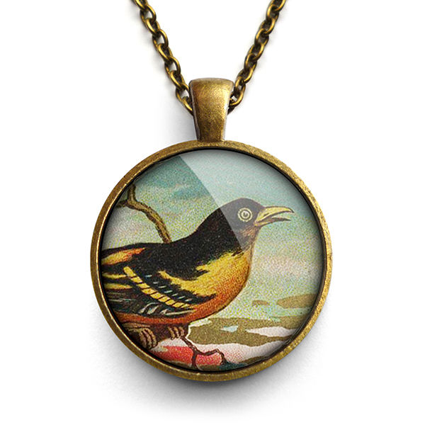 Affable Bird Large Necklace (TB03) - product images  of