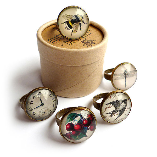 Vintage Clock Ring (ER06) - product images  of