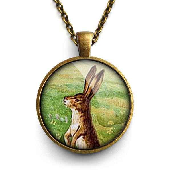 Vintage Hare Large Necklace (ER08)  - product images  of