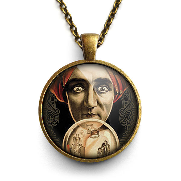 Fortune Teller Large Necklace (DJ04) - product images  of