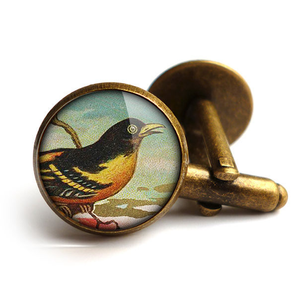 Affable Bird Cufflinks (TB03) - product images  of