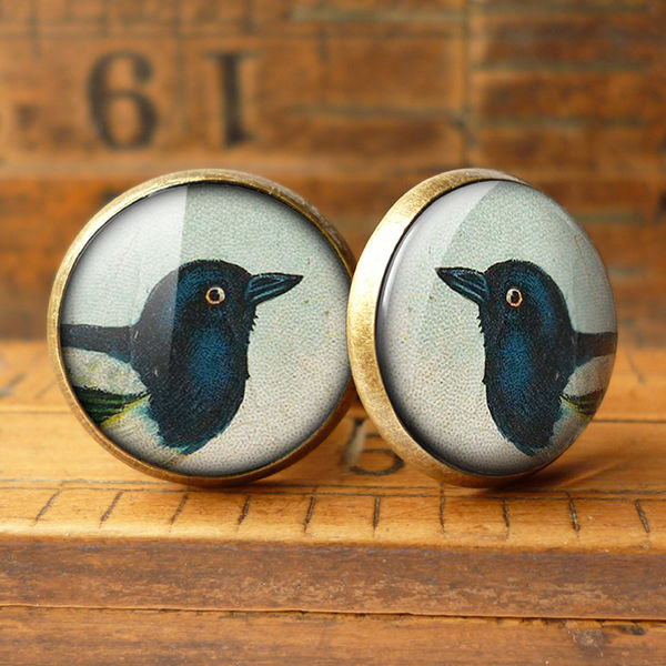 Magpie Cufflinks (TB08) - product images  of