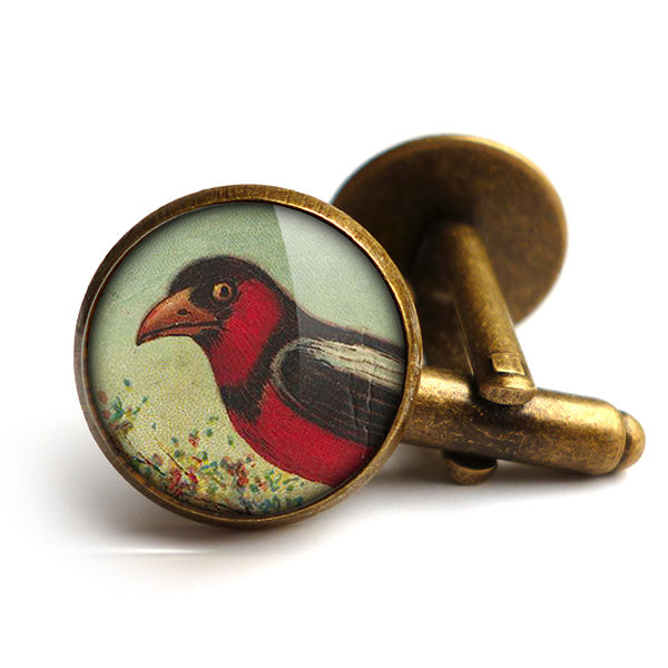 Disapproving Bird Cufflinks (TB09) - product images  of