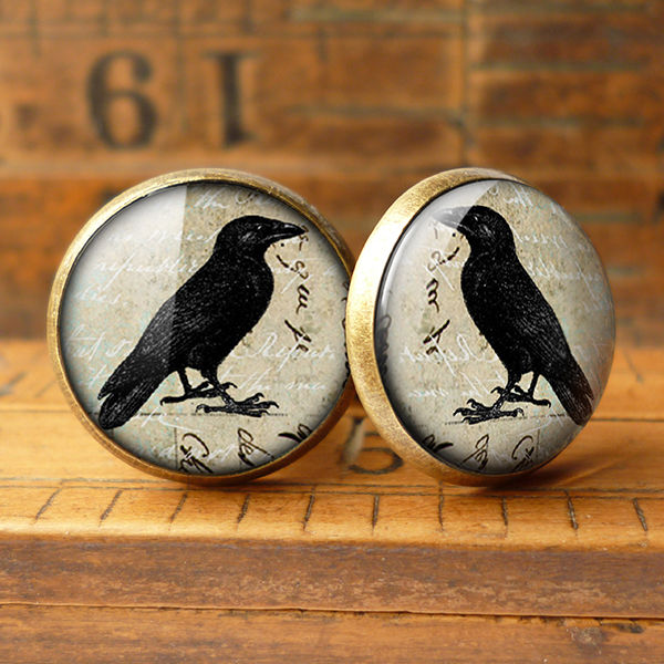 Raven No.1 Cufflinks (RR01) - product images  of