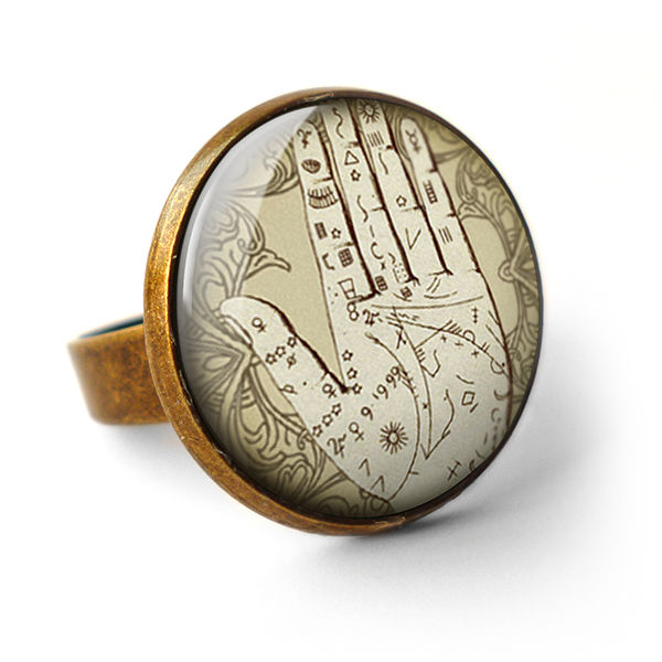 Palmistry Ring (DJ08) - product images  of