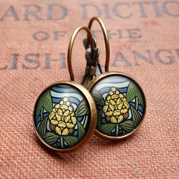 Arrowhead Leverback Earrings (AN08) - product images