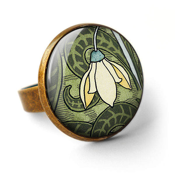 Snowdrop Ring (AN05) - product images  of