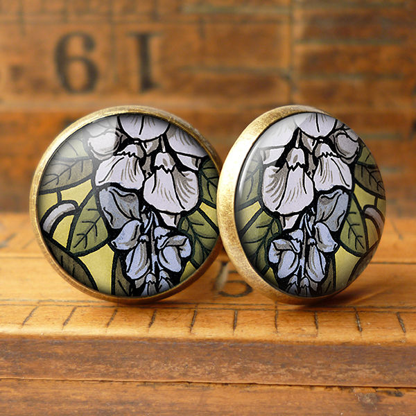 Wisteria Cufflinks (AN03) - product images  of