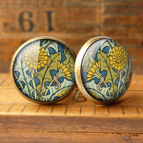Dandelion Cufflinks (AN04) - product images  of