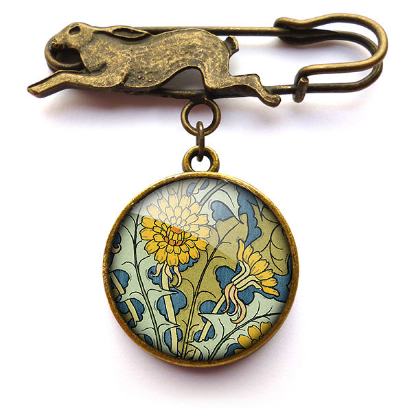 Dandelion Hare Pin Brooch (AN04) - product images  of