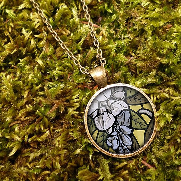 Wisteria Large Necklace (AN03) - product images  of