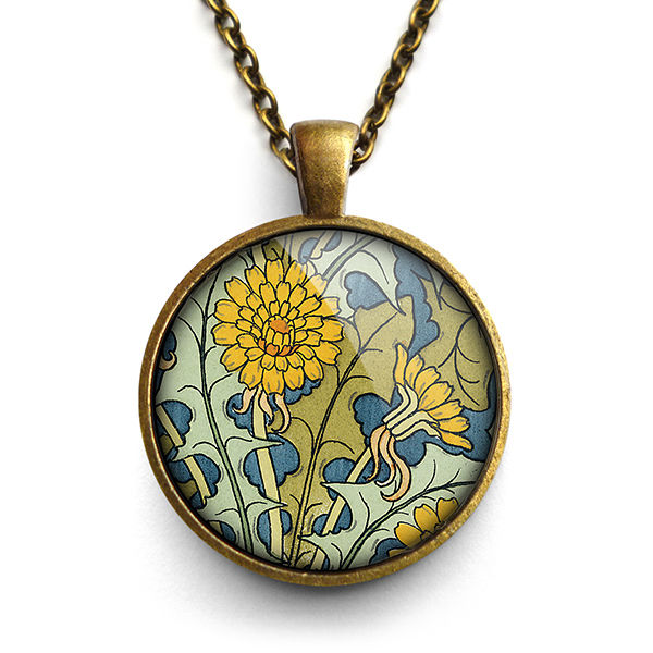Dandelion Large Necklace (AN04) - product images  of