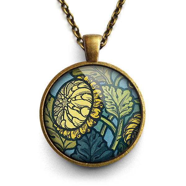 Chrysanthemum Large Necklace (AN06) - product images  of