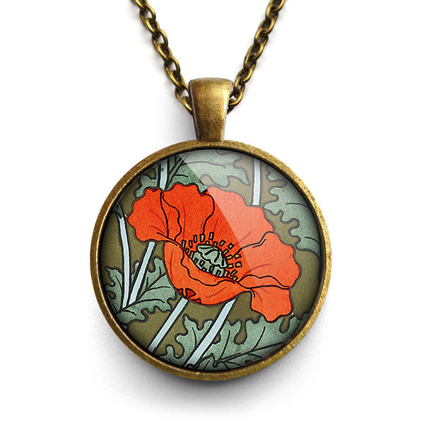 Poppy Large Necklace (AN07) - product images  of