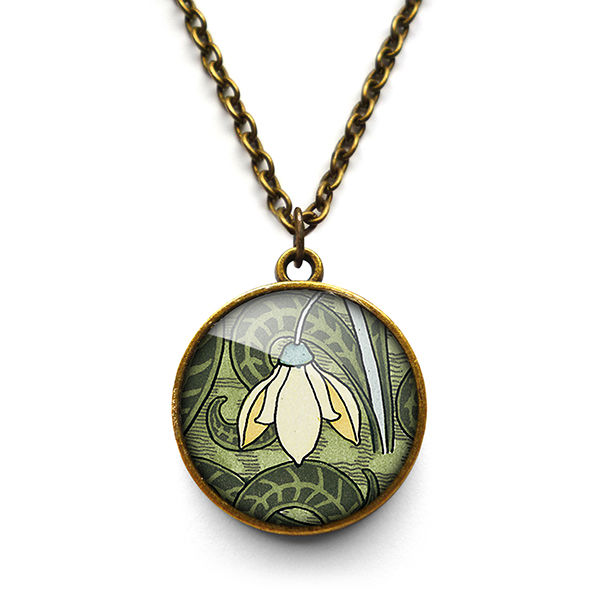 Snowdrop Necklace (AN05) - product images  of