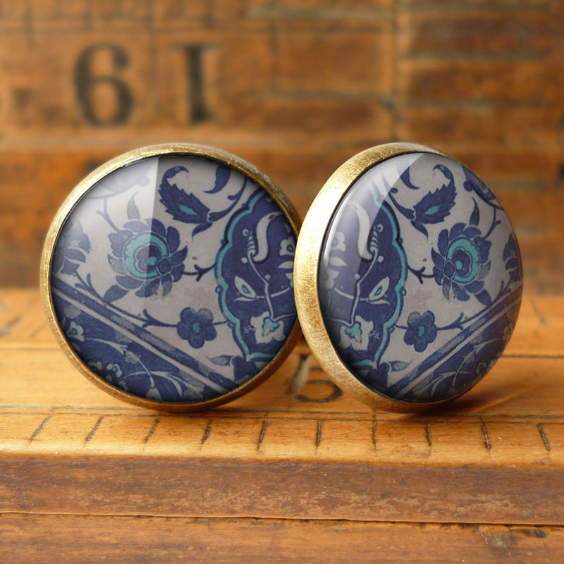 Floral No.1 Cufflinks (BP04) - product images  of