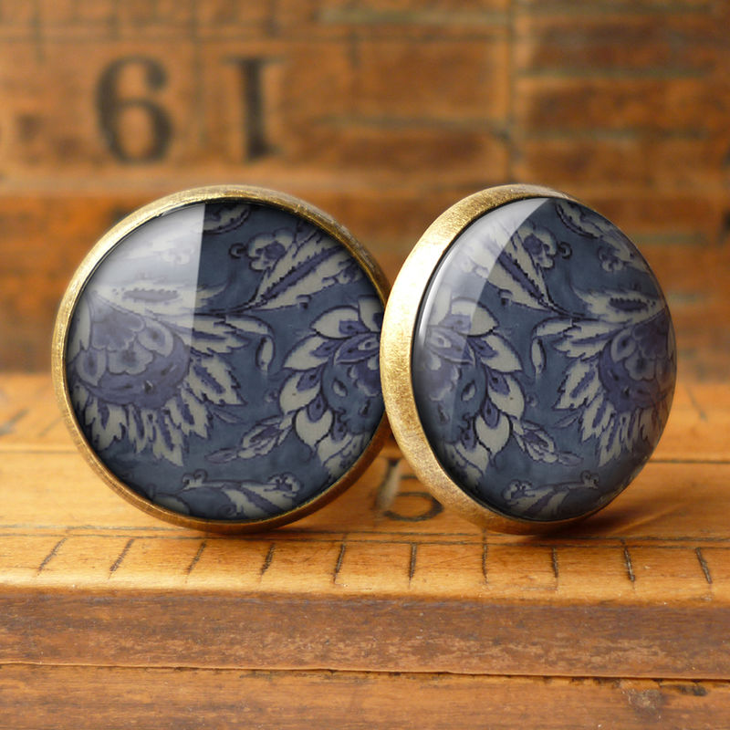 Floral No.2 Cufflinks (BP05) - product images  of