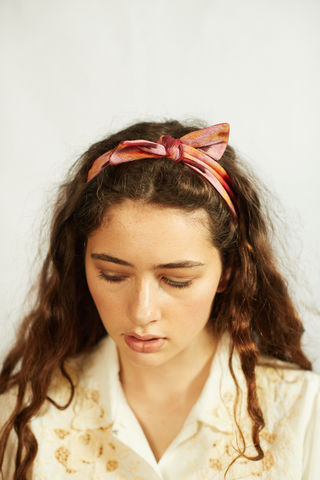 FRIEDA,-,Ikkat,headband, summer headband, bow headband
