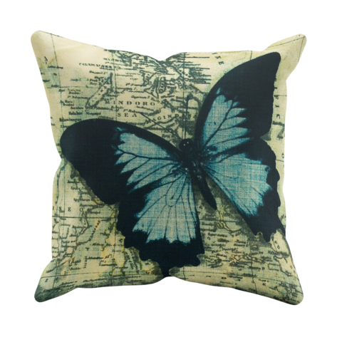 Butterfly,Cushion,Cover