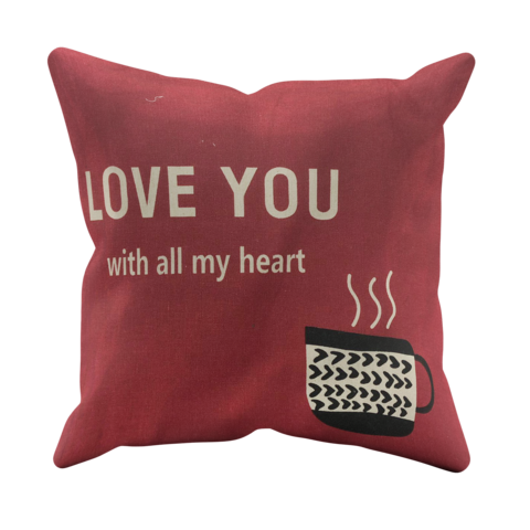 Love,You,Cushion,Cover,(Filled)