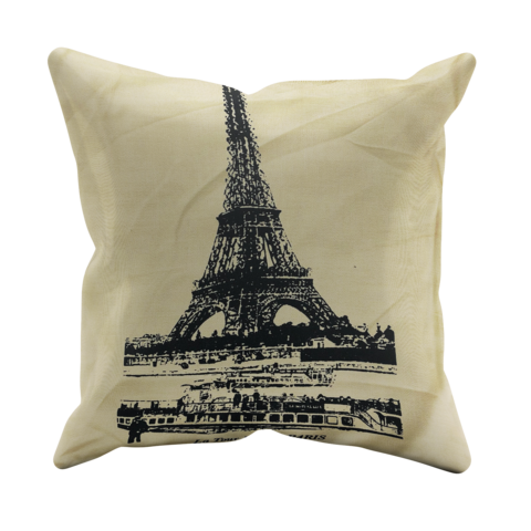 Paris,Cushion,Cover