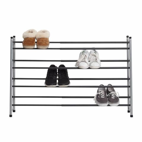 4,Tier,Expandable,Shoe,Rack