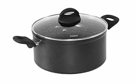 20cm,Forged,Die-Cast,Ceramic,Coated,Stockpot,with,Lid
