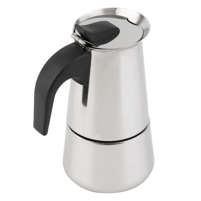 2-Cup Stainless Steel Espresso Maker  - product images  of
