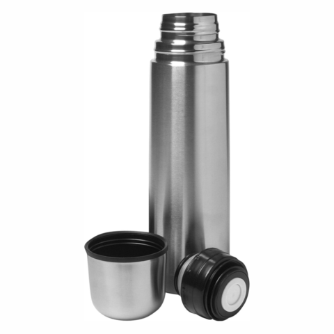 0.75l,Vacuum,Flask,Unbreakable,For,Hot,Or,Cold,Use,Stainless,Steel,0.75l Vacuum Flask Unbreakable For Hot Or Cold Use Stainless Steel