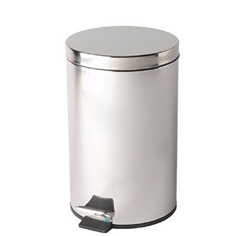 Brushed,Stainless,Steel,Pedal,bin,20ltr