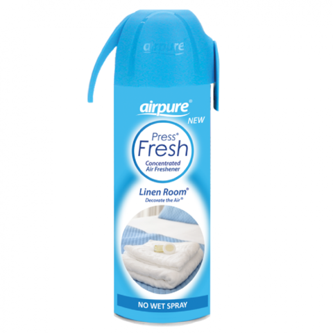 Airpure,Linen,Room,Concentrated,Air,Freshener,180ml,Airpure Linen Room Concentrated Air Freshener 180ml