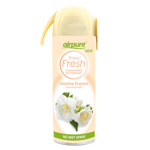 Airpure,Jasmine,Essence,Concentrated,Air,Freshener,180ml,Airpure Jasmine Essence Concentrated Air Freshener 180ml