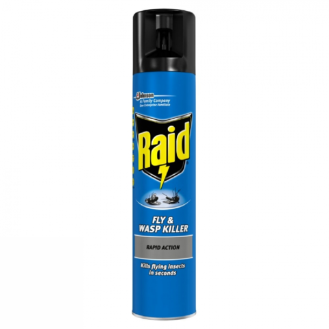 Raid,Fly,and,Wasp,Killer,300ml,Raid Fly and Wasp Killer 300ml