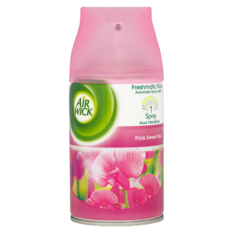 Air,Wick,Freshmatic,Refill,250ml,Pink,Sweet,Pea,Air Wick Freshmatic Refill 250ml Pink Sweet Pea