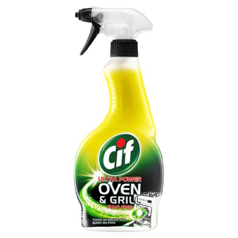 Cif,Ultra,Power,Oven,and,Grill,Cleaner,500ml,Cif Ultra Power Oven and Grill Cleaner 500ml