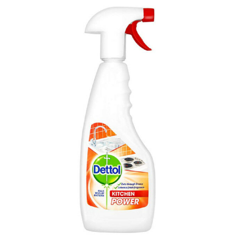 Dettol,Kitchen,Power,Cleaner,440ml,Dettol Kitchen Power Cleaner 440ml