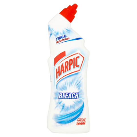 Harpic,Thick,Bleach,Gel,750ml,Harpic Thick Bleach Gel 750ml