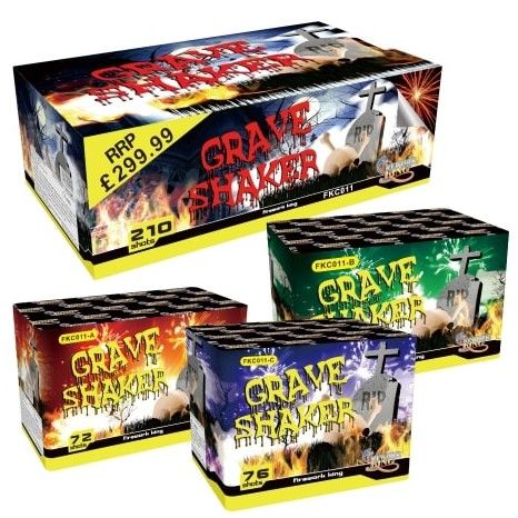 Grave Shaker 210 Shot BUY ONE GET ONE FREE! - product image