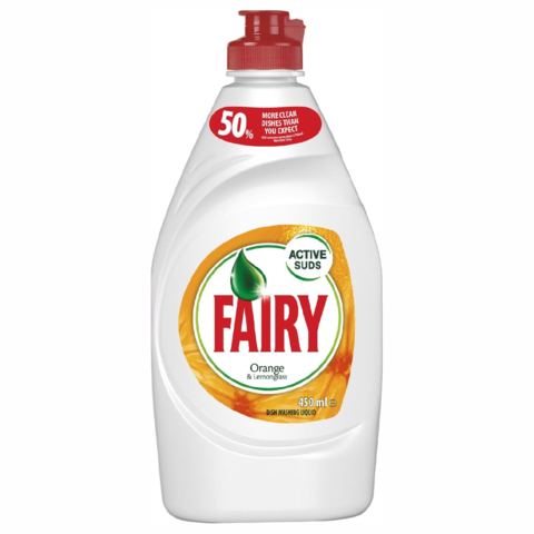 Fairy,Washing,Up,Liquid,Orange,&,Lemongrass,450ml,Fairy Washing Up Liquid Orange & Lemongrass 450ml, Fairy, Orange, Lemonsgrass,
