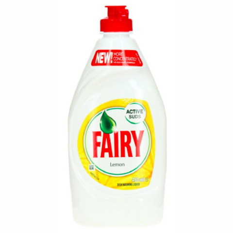 Fairy,Washing,Up,Liquid,Lemon,450ml,Fairy Washing Up Liquid Lemon 450ml, Fairy,