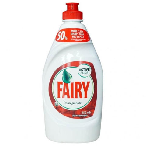 Fairy,Washing,Up,Liquid,Pomegranate,450ml,Fairy Washing Up Liquid Pomegranate 450ml