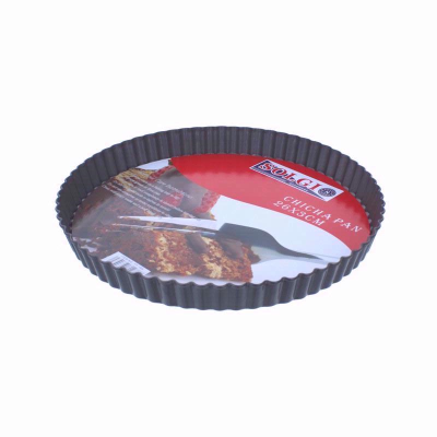 Non,Stick,Loose,Base,Bottom,Quiche,Flan,Tart,Tin,26cm,SOLGI Chicha Quiche Pan Bakeware
